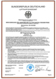 ASF Engineering GmbH - Maintenance Organisation Approval Certificate according EASA Part 145: DE.145.0020